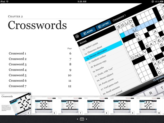 ‎Magic Touch Crosswords American Style on Apple Books