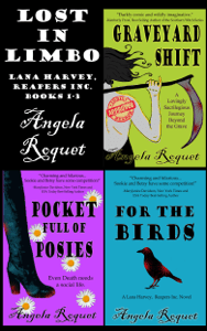 Lost in Limbo (Lana Harvey, Reapers Inc. books 1-3) - Angela Roquet pdf download