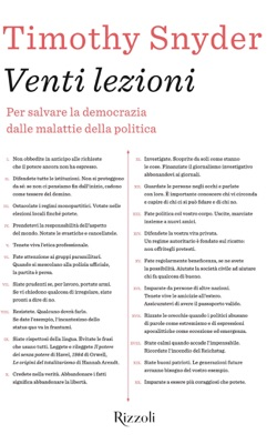 Venti lezioni - Timothy Snyder pdf download