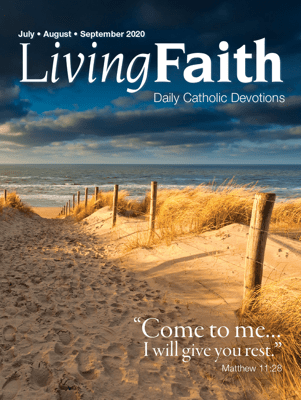 Living Faith July, August, September 2020 - Terence Hegarty pdf download