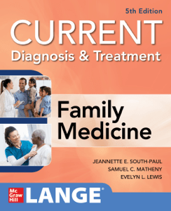 CURRENT Diagnosis & Treatment in Family Medicine, 5th Edition - Jeannette E. South-Paul, Samuel C. Matheny & Evelyn L. Lewis pdf download