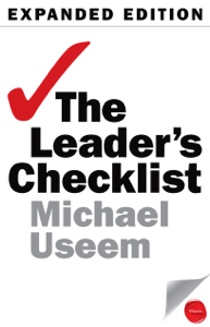 The Leader's Checklist, Expanded Edition - Michael Useem pdf download