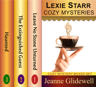 Lexie Starr Cozy Mysteries Boxed Set (Three Complete Cozy Mysteries in One) - Jeanne Glidewell pdf download
