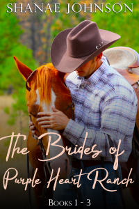 The Brides of Purple Heart Ranch Boxset, Books 1-3 - Shanae Johnson pdf download