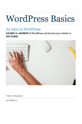 WordPress Basics - Thierry Maasdam