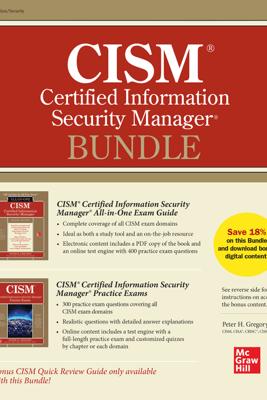 CISM Certified Information Security Manager Bundle - Peter H. Gregory