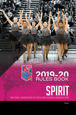 2019-20 NFHS Spirit Rules Book - NFHS