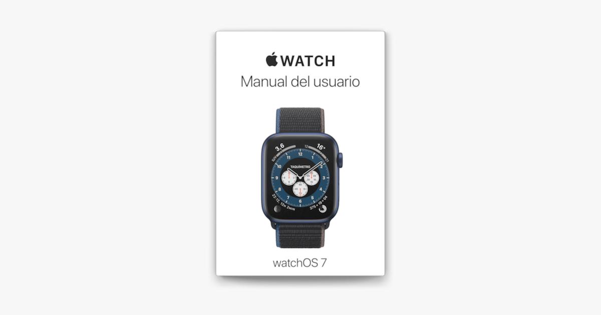 Manual del usuario del Apple Watch en Apple Books