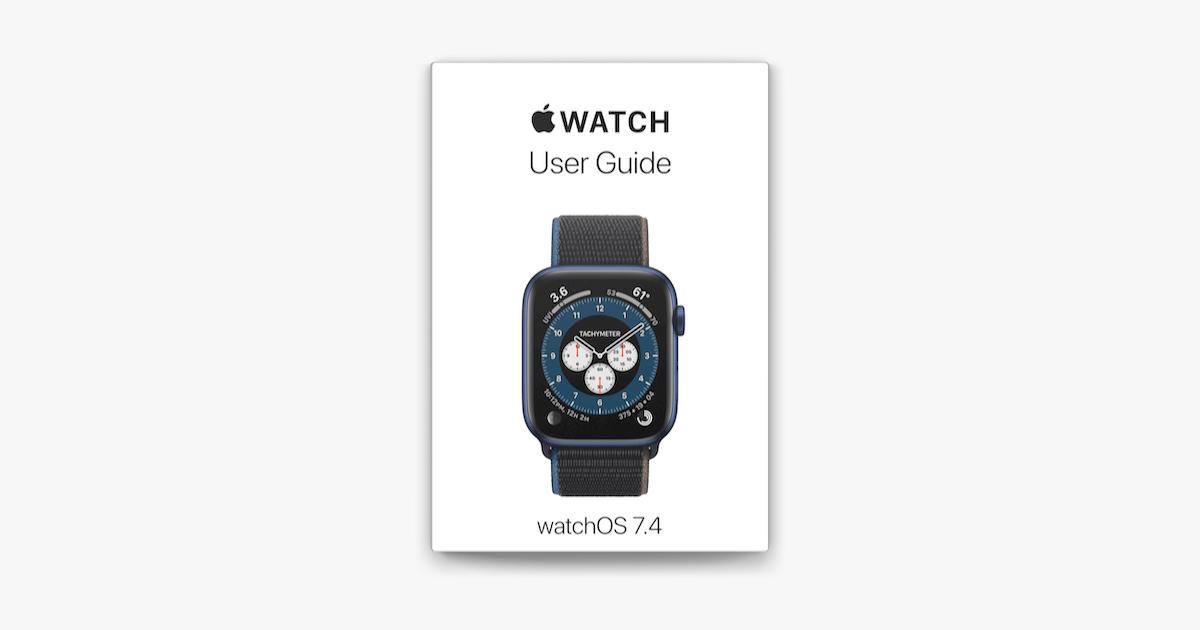 Apple BooksでApple Watch User Guideを読む