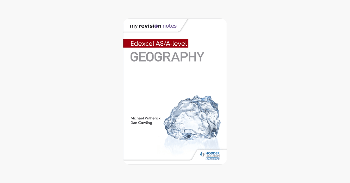 My Revision Notes: Edexcel AS/A-level Geography on Apple
