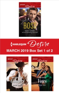 Harlequin Desire March 2019 - Box Set 1 of 2 - Katy Evans, Silver James & Zuri Day pdf download