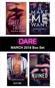 Harlequin Dare March 2018 Box Set - Nicola Marsh, Riley Pine, Katee Robert & Jackie Ashenden pdf download