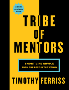 Tribe of Mentors - Timothy Ferriss pdf download