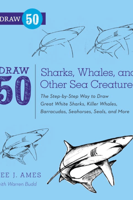 Draw 50 Sharks, Whales, and Other Sea Creatures - Lee J. Ames & Warren Budd