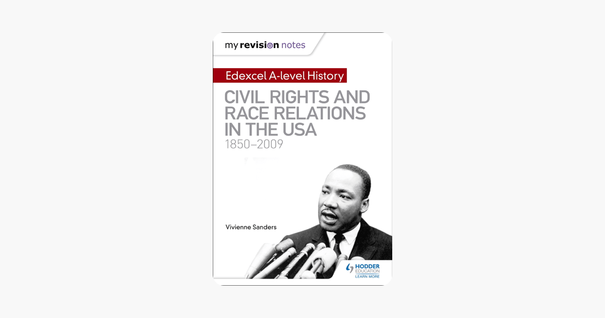 My Revision Notes: Edexcel A-level History: Civil Rights