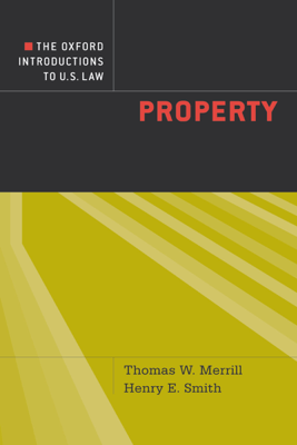 The Oxford Introductions to U.S. Law - Thomas W. Merrill & Henry E. Smith