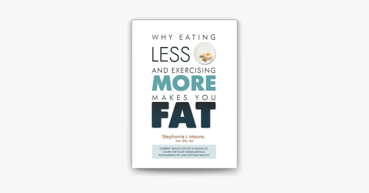 Why Eating Less and Exercising More Makes You Fat on