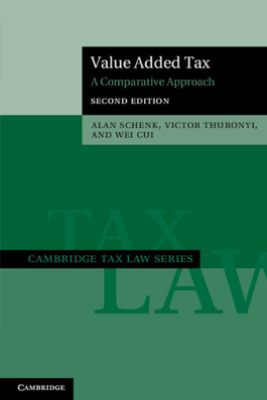 Value Added Tax: Second Edition - Alan Schenk, Victor Thuronyi & Wei Cui