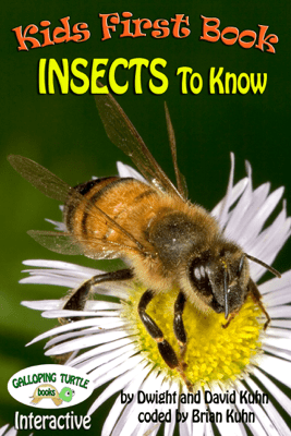 Kids First Book -  Insects to Know - Dwight R. Kuhn, David D. Kuhn & Brian D. Kuhn