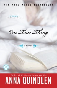 One True Thing - Anna Quindlen pdf download