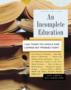 An Incomplete Education - Judy Jones & William Wilson pdf download