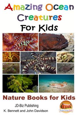 Amazing Ocean Creatures For Kids: Nature Books for Kids - K. Bennett