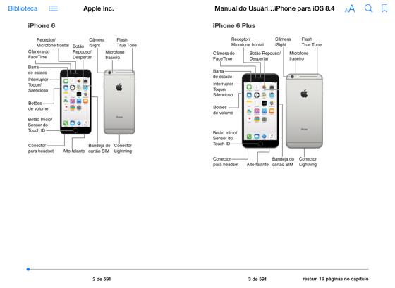 Manual do Usuário do iPhone para iOS 8.4 em Apple Books