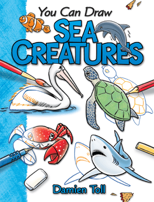 You Can Draw Sea Creatures - Damien Toll pdf download