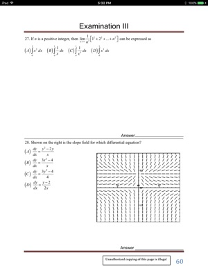 ‎Multiple Choice Questions to Prepare for the AP Calculus