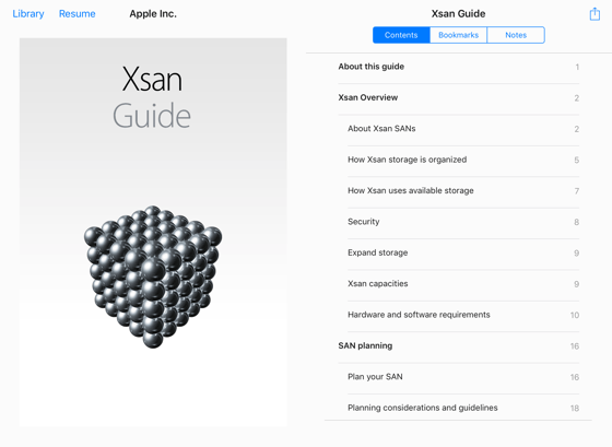 ‎Xsan Guide on Apple Books