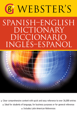 Webster's Spanish-English Dictionary/Diccionario Ingles-Espanol - Claire Crawford