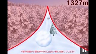 雪玉ゴロゴロスクリーンショット5