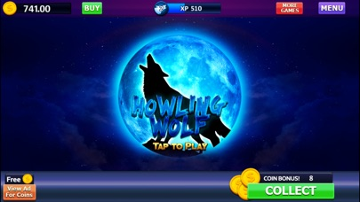 Howling Wolf: Spirit of the Moon Vegas Slots 1.2 IOS