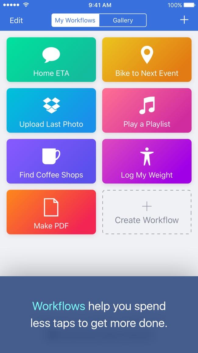 Workflow Screenshot