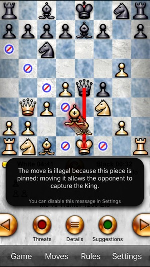 Free Chess App Screenshot