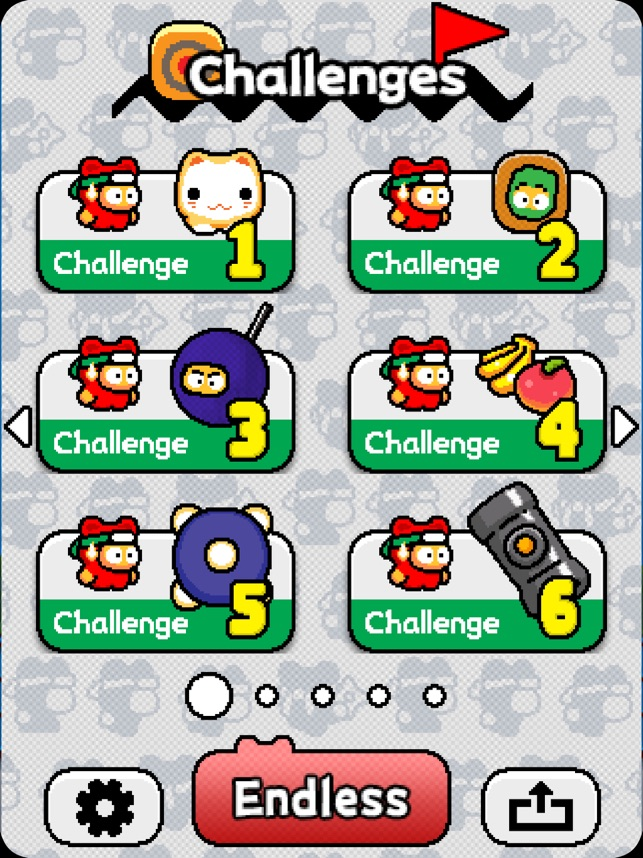 Ninja Spinki Challenges!! Screenshot
