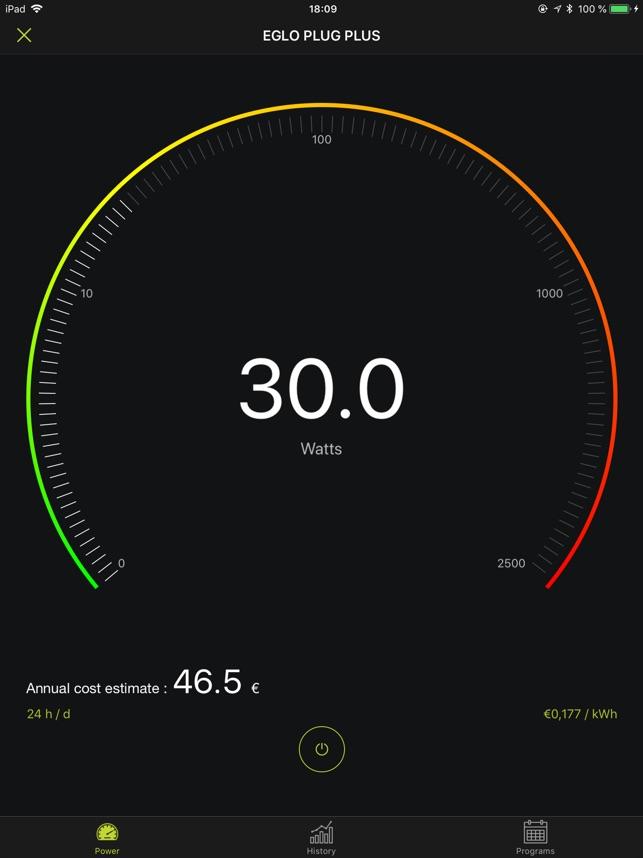 AwoX Smart CONTROL Capture d'écran