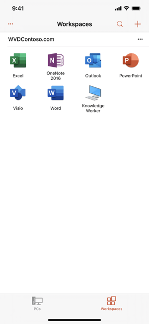 Remote Desktop Mobile Screenshot