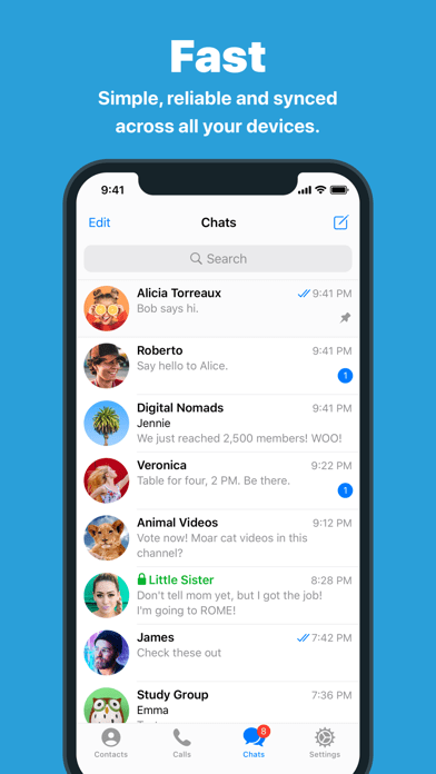 Telegram Messenger App Download - Android APK