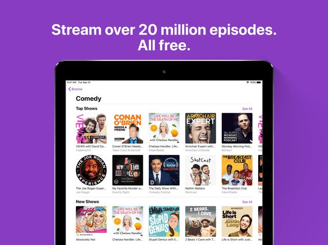 Apple Podcasts Screenshot
