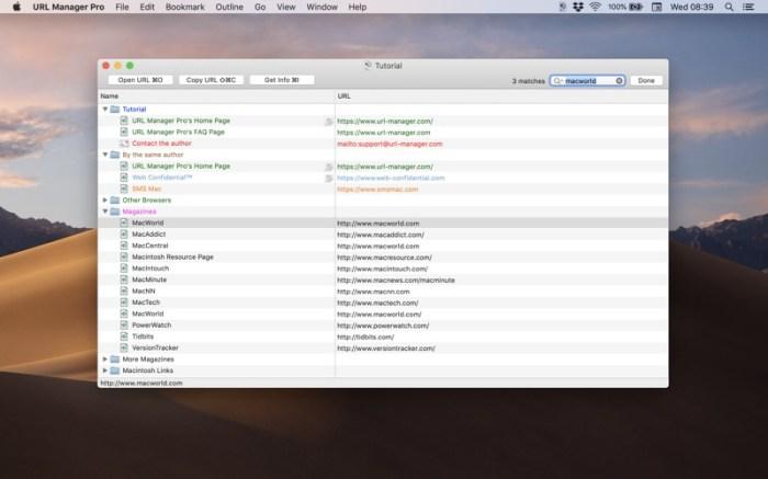 URL Manager Pro Screenshot 07 136ypkn