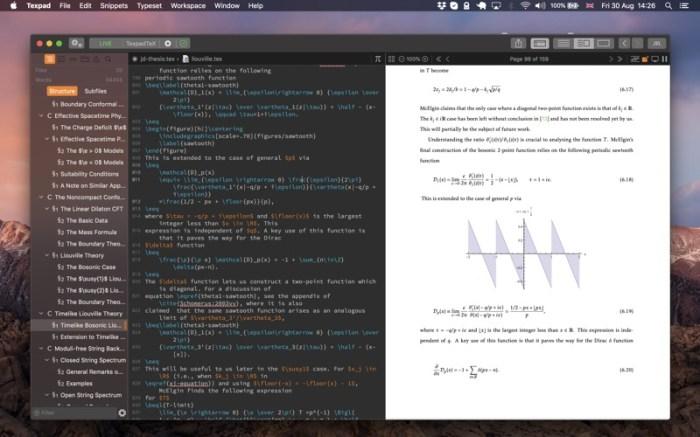 Texpad : LaTeX editor Screenshot 02 f5mxejn
