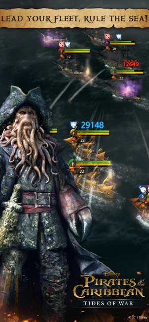 ‎Pirates of the Caribbean : ToW Screenshot