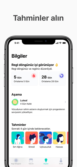 Cycles - Regl Takvimi Screenshot