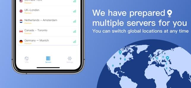 Thunder VPN -Hotspot VPN Proxy Screenshot