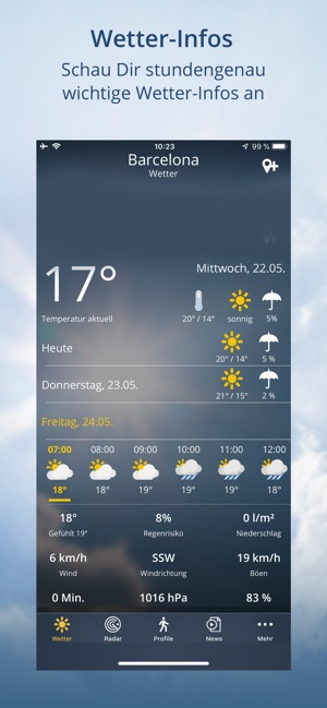 wetter.de - Wetter und mehr Screenshot