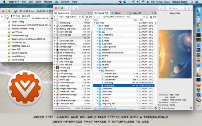 Viper FTP Screenshot 1 57xqftn