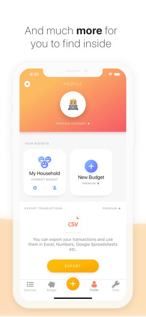 Buddy - Easy Budgeting Screenshot