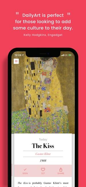 dailyart on the app