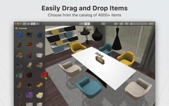Planner 5D - Interior Design Screenshot 02 d0fwyin